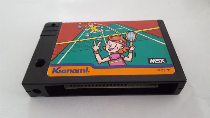 Juego de Tennis MSX de Konami