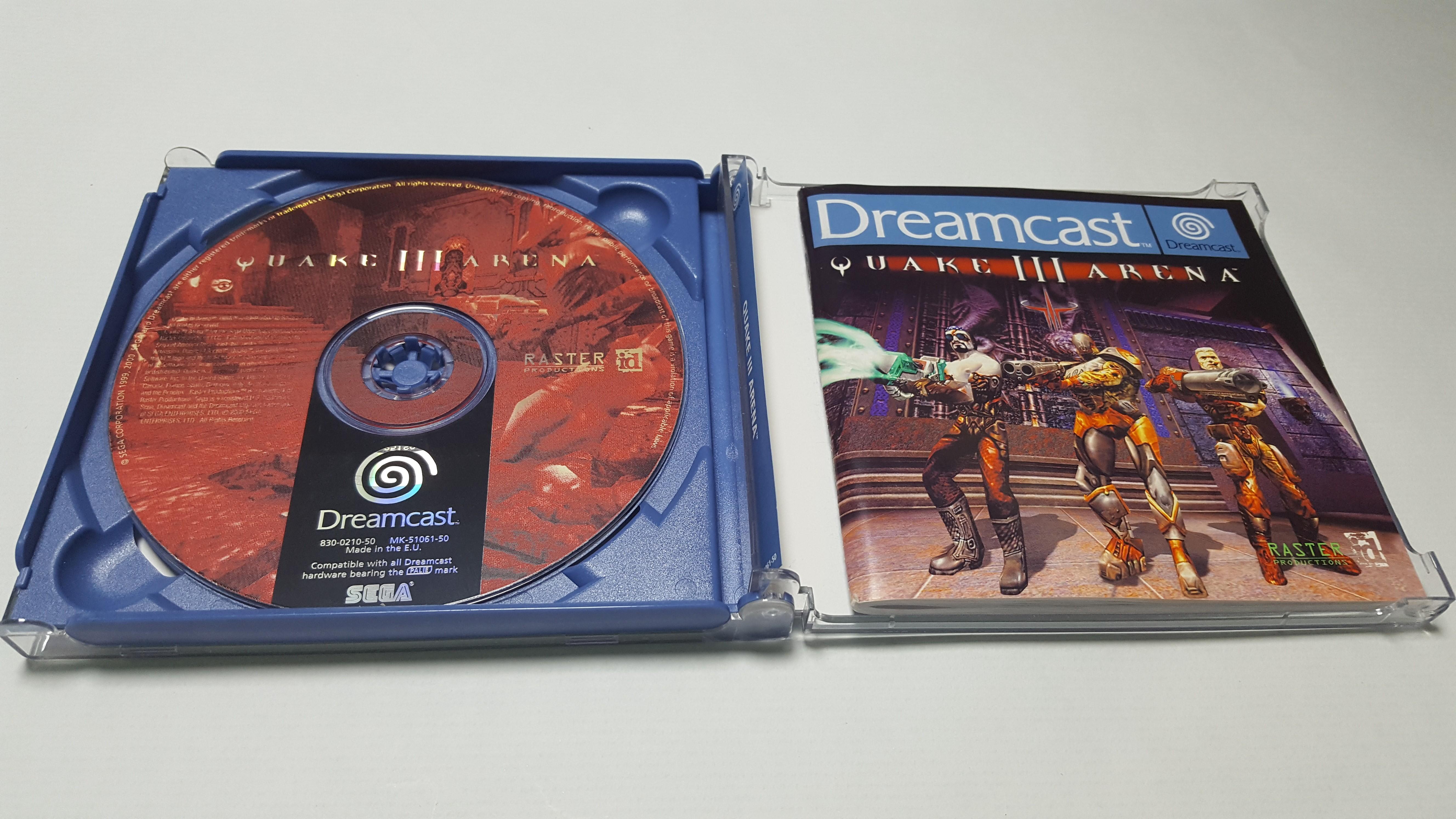 Juego Para Sega Dreamcast Quake 3 Arena Tape Loader