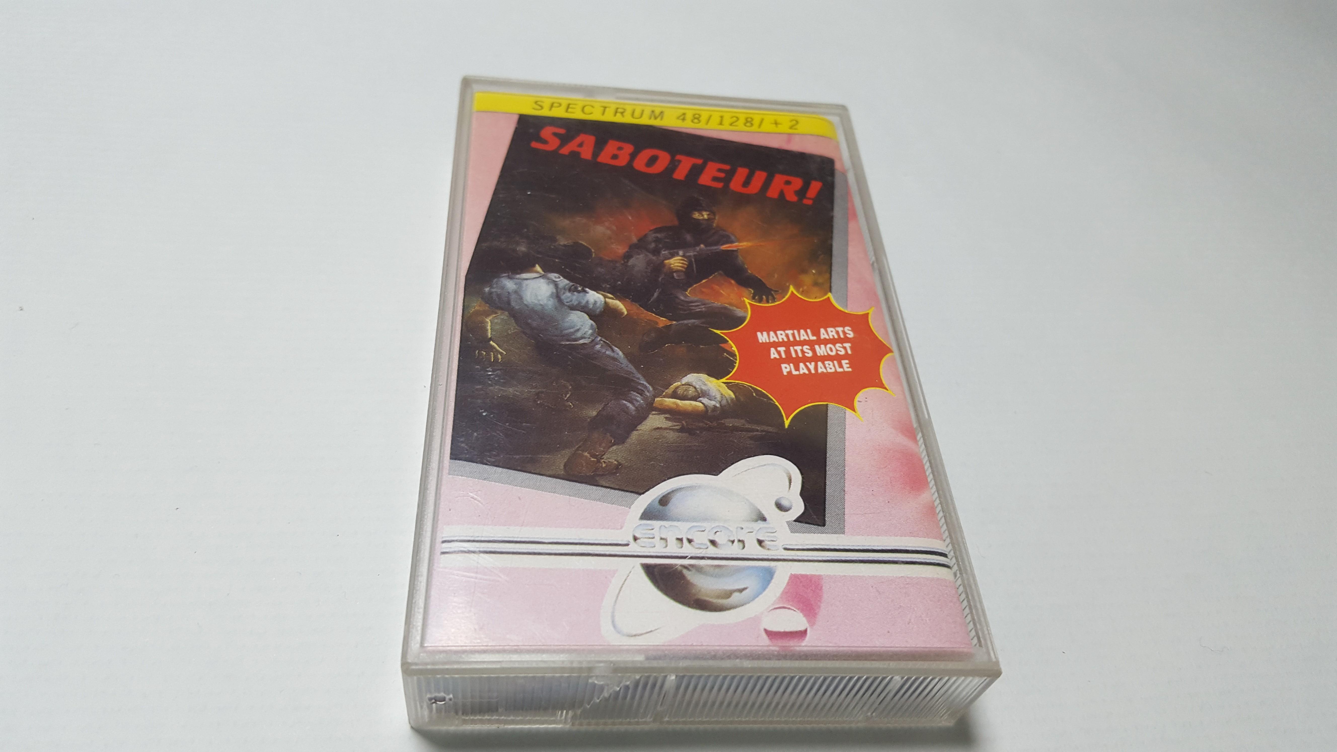 Juego de ZX Spectrum Saboteur en Cassette