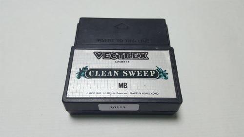 Juego de Vectrex CleanSweep