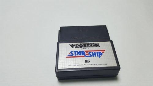 Juego de Vectrex Starship o Star Trek