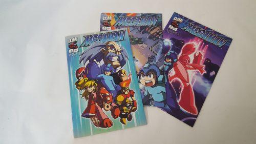 Comics de Megaman de colección vintage