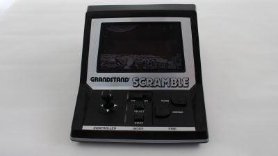 Tabletop Grandstand Scramble. Consola basada en el mítico videojuego