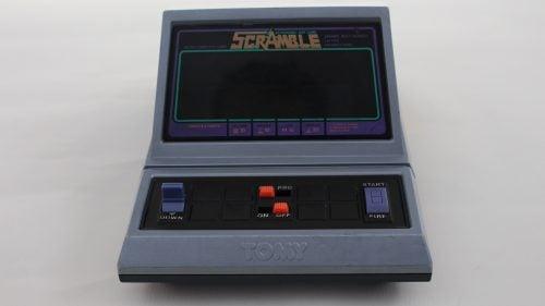 Tabletop Scramble Tomy . Gran consola que reproduce el mítico juego