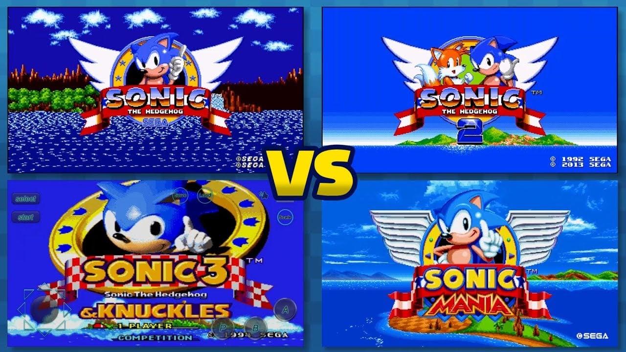 Sonic 1 2 3