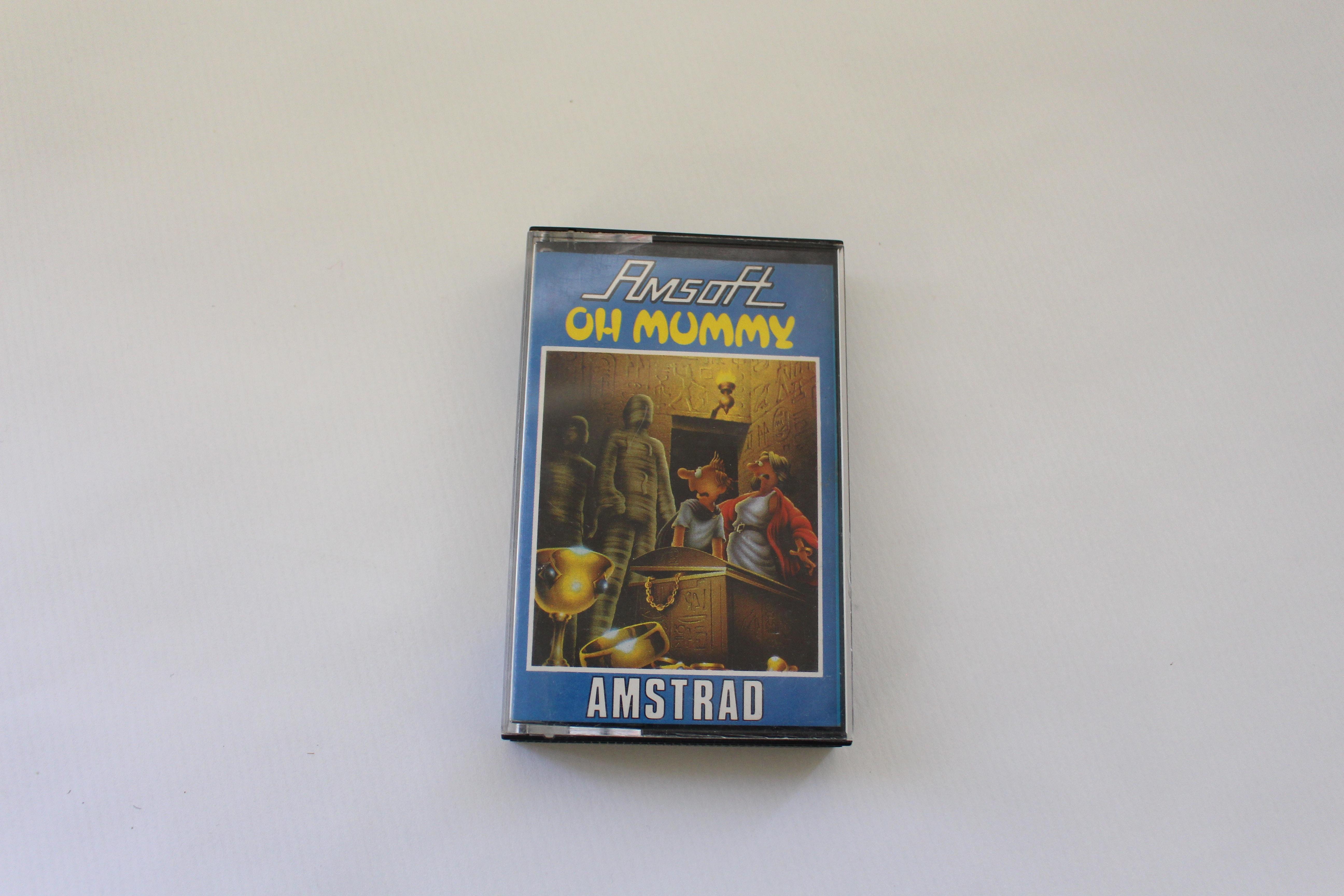 cassette oh mummy amstrad de amsoft